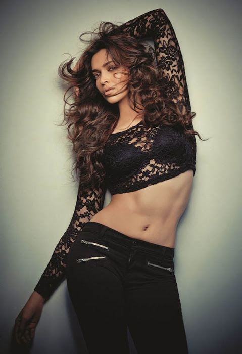 Deepika Padukone body expose photos in a net dress | HotPose