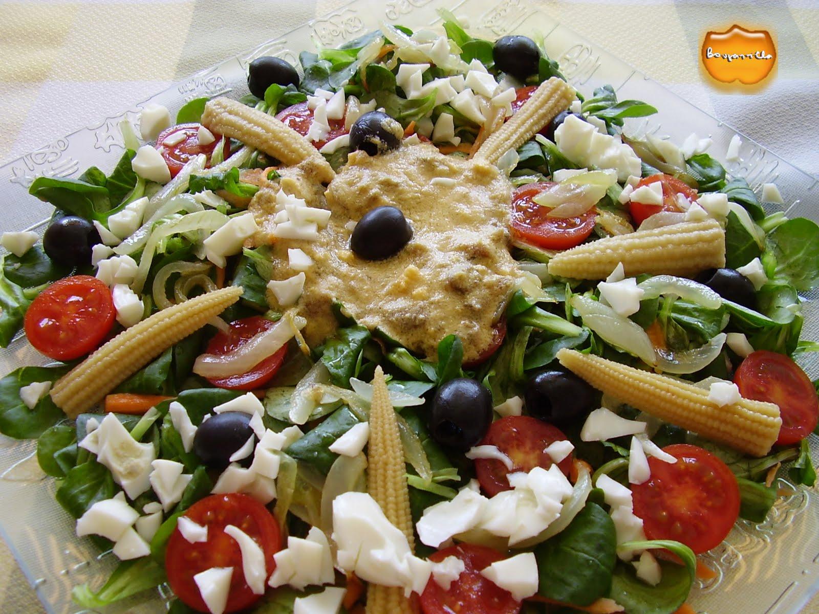 M s salud y ejercicio 10 razones para comer ensaladas - Ensaladas con canonigos ...