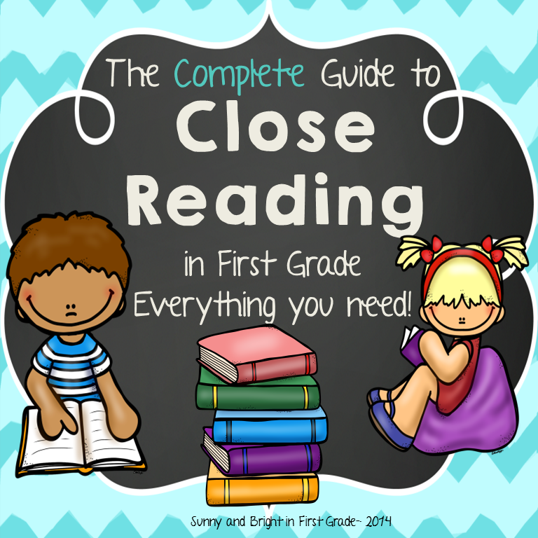https://www.teacherspayteachers.com/Product/First-Grade-Close-Reading-A-Complete-Guide-EVERYTHING-You-Need-Common-Core-1213970
