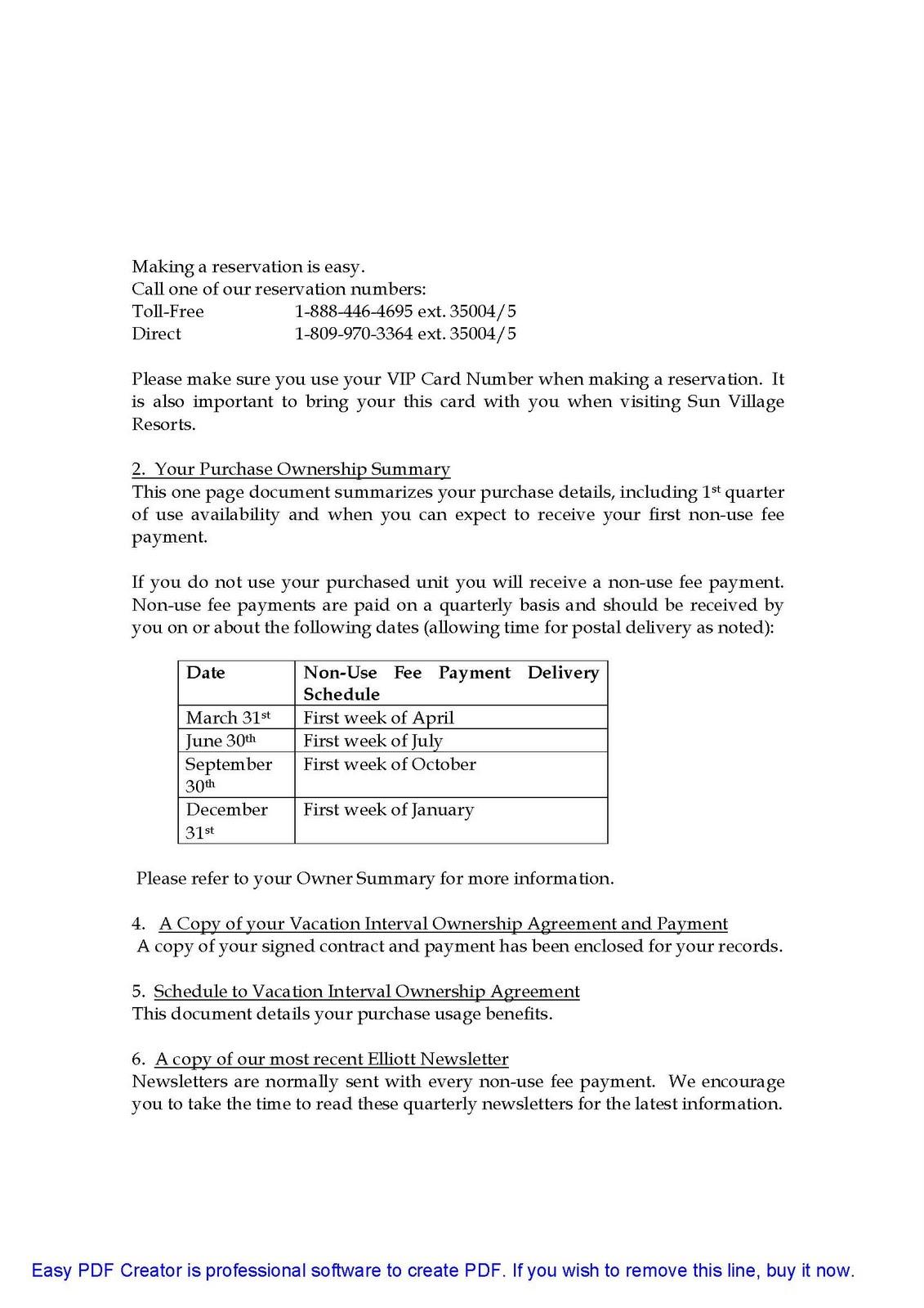 sun village facts may 2011