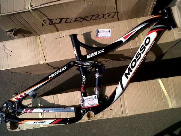 Jual Frame Sepeda Gunung BH C-One Dominate Kona MOSSO