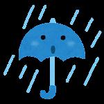 天気のマーク「雨」
