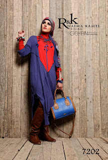 صور كولكشن لبس للمحجبات من تصميمات رهف وكنزى