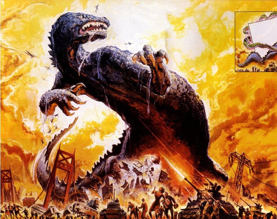 Kaiju Battle: Classic Godzilla Vs. The Thing Promo Poster