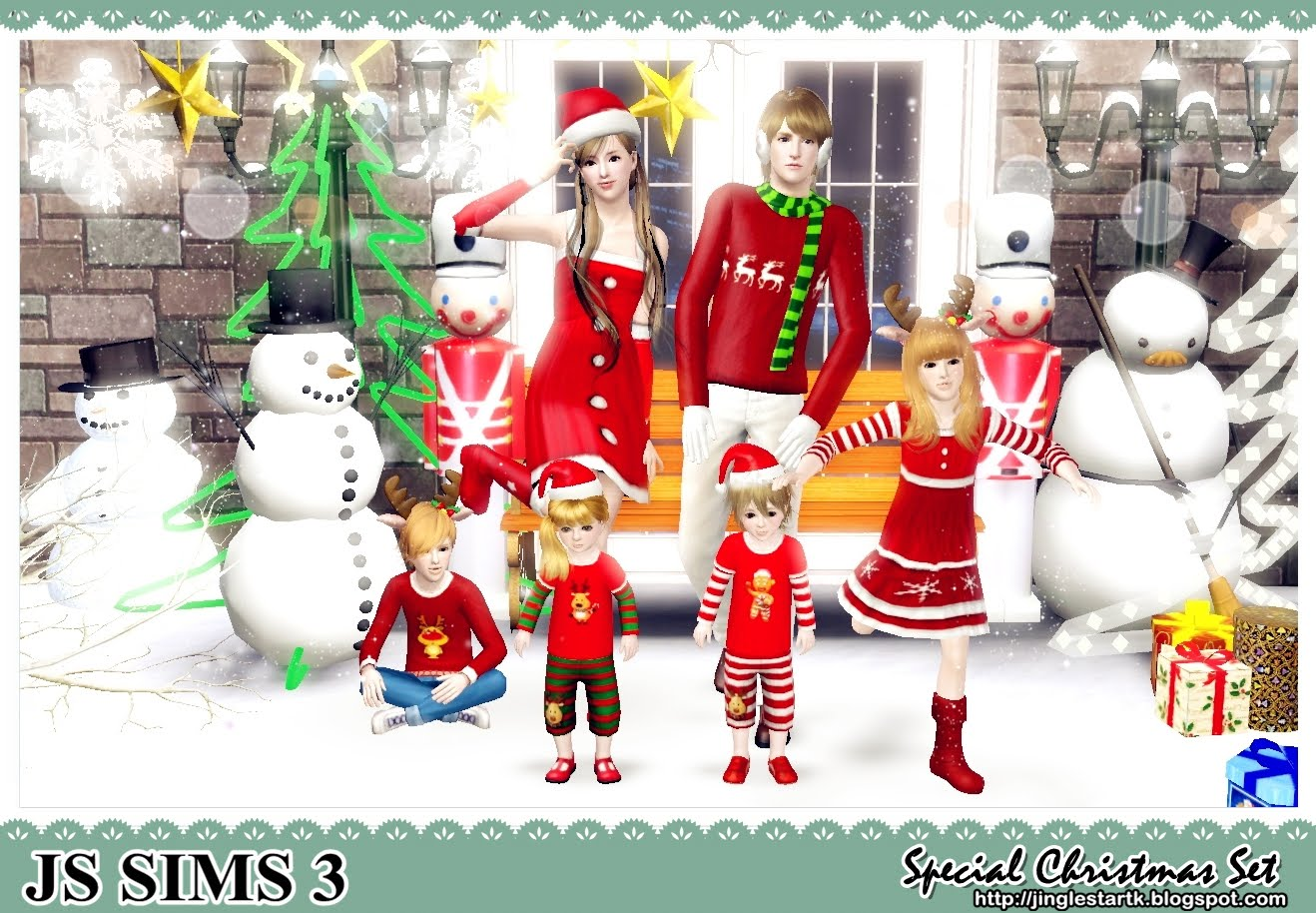 my sims 3 blog christmas clothing set by js sims 3. Black Bedroom Furniture Sets. Home Design Ideas