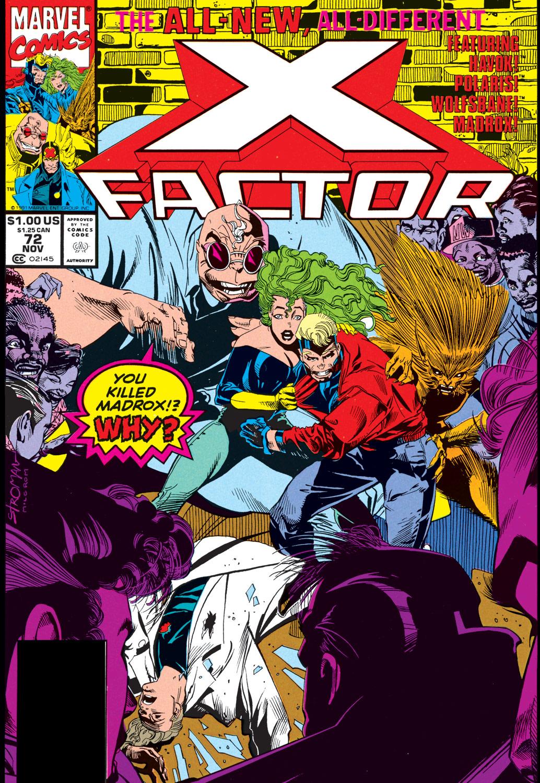 X-FACTOR   # 70 COMIC 1991-9.4