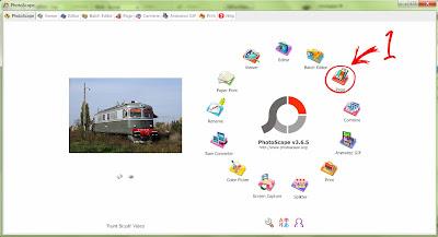 photoscape, asas grafik, kolaj gambar