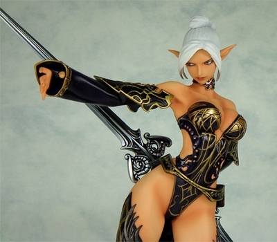 Lineage II Dark Elf PVC Figure Good Smile Company