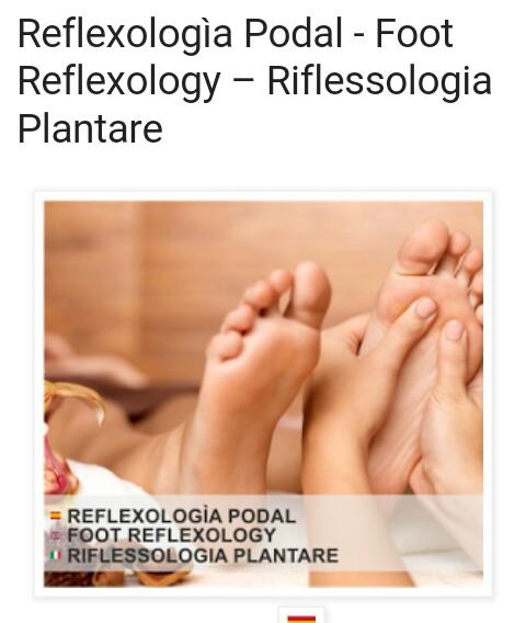 Reflexología Podal y manual