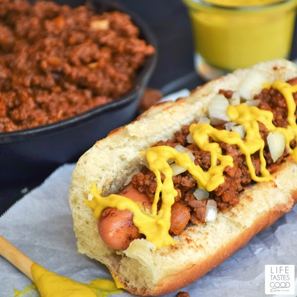 Coney Island Hot Dogs | by Life Tastes Good