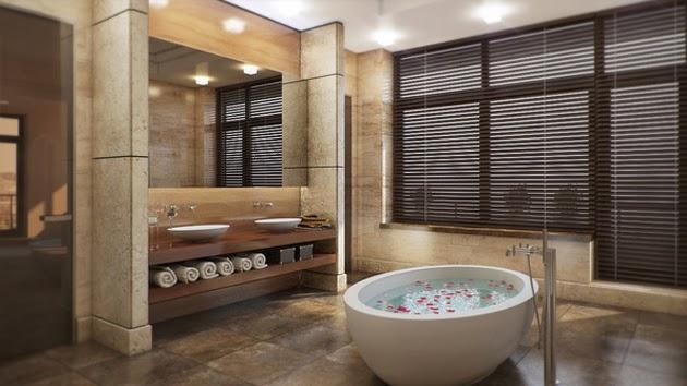 Rafraîchissante décoration salle de bains ~ Décor de Maison ...
