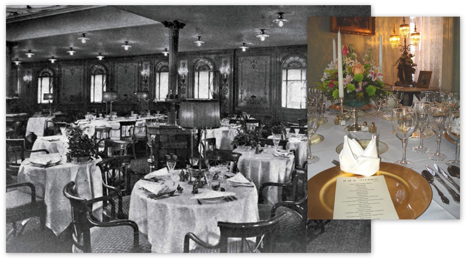 100th anniversary celebrating the titanic dinner and tea dinner on the titanic 100th anniversary