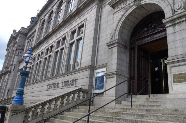 Central Library, Biblioteca Publica Central de Aberdeen