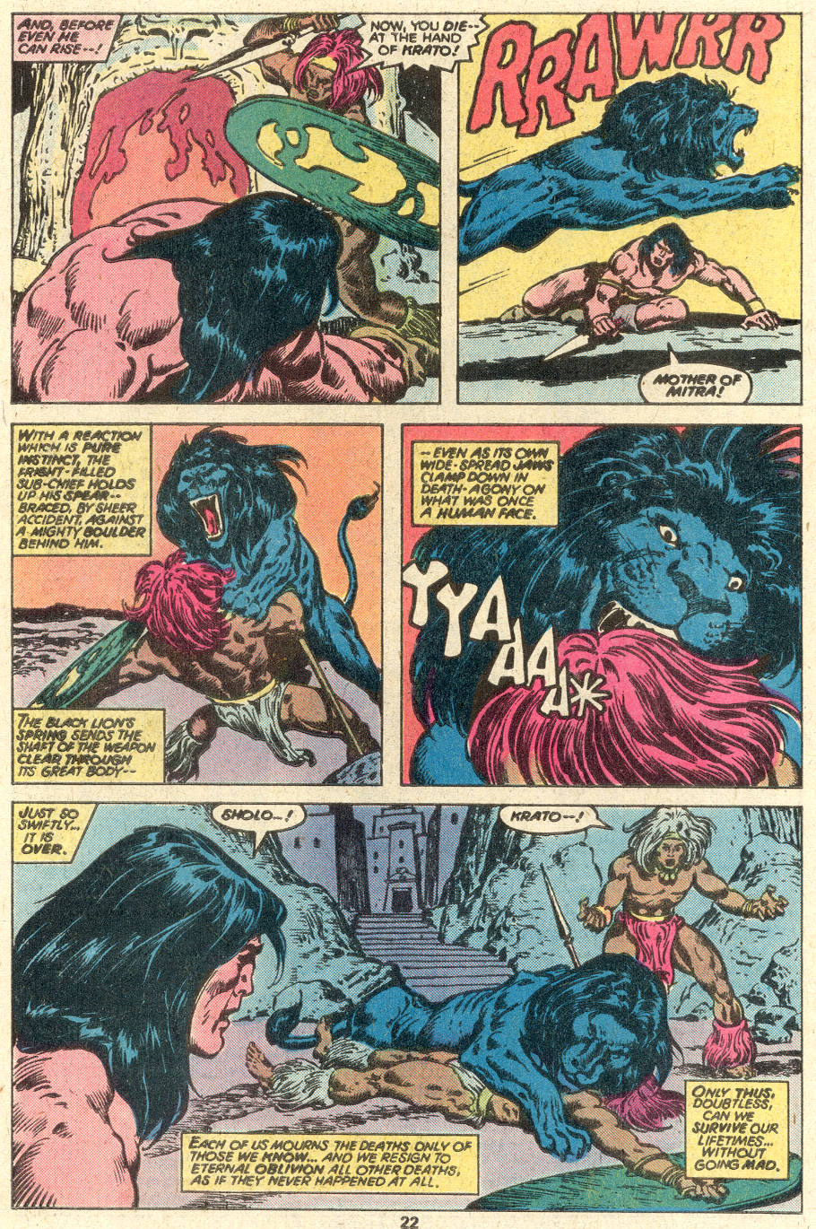 Conan the Barbarian (1970) Issue #97 #109 - English 13