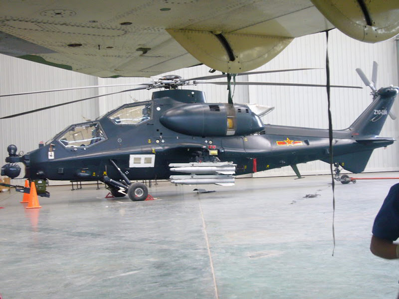WZ-10 Army Attack Helicopter