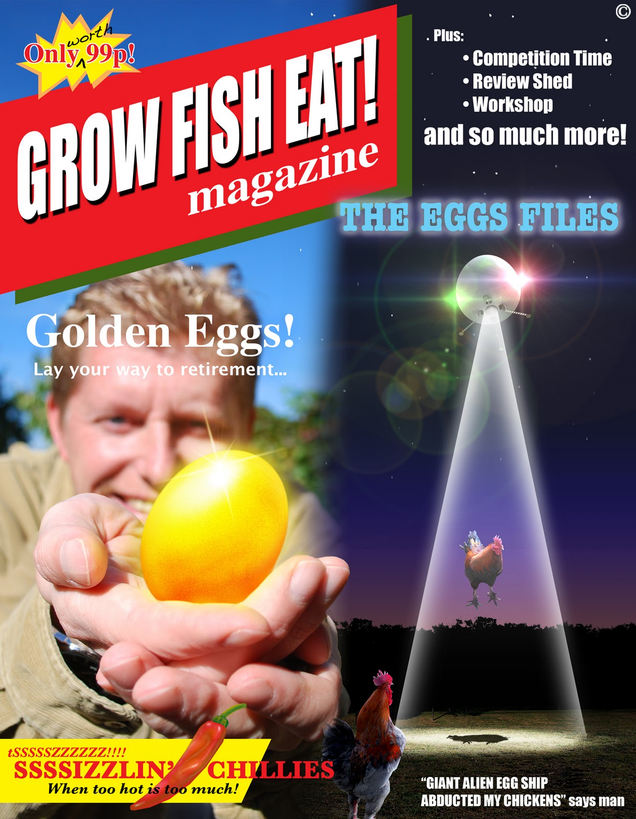 Grow fish eat bumper issue for Fish eat and grow