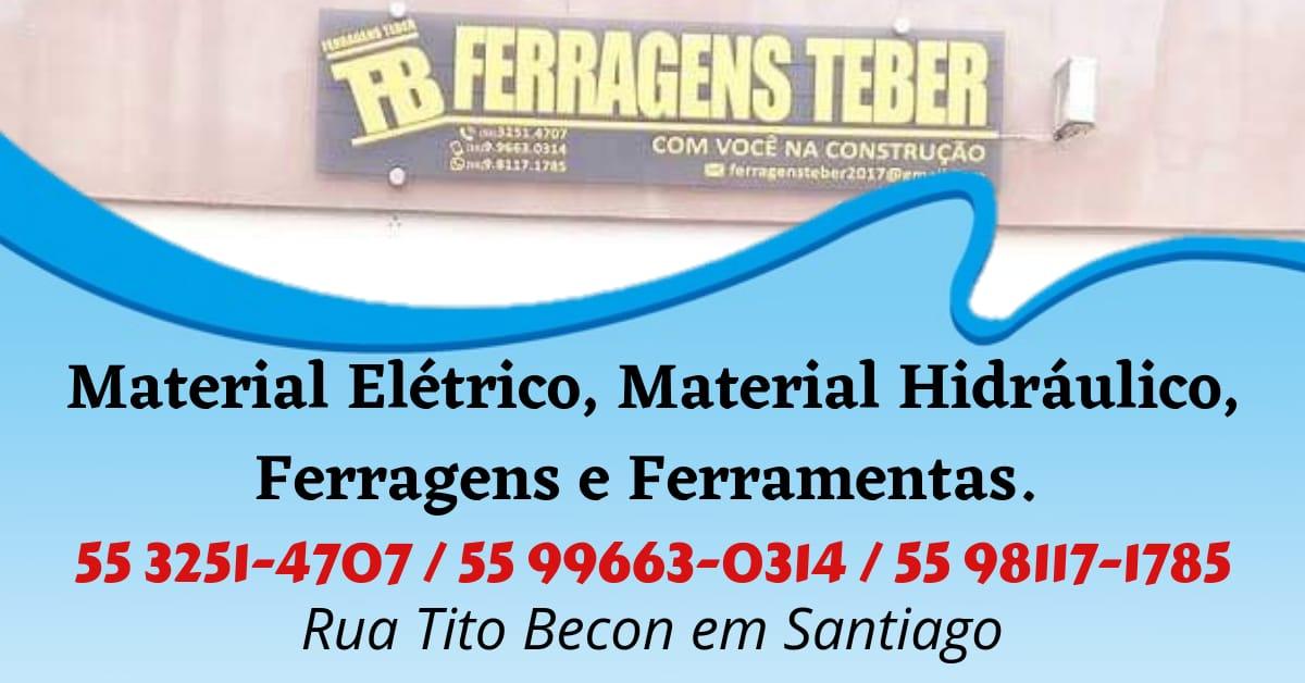 FERRAGENS TEBER EM SANTIAGO
