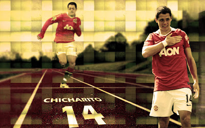 Javier chicharito Hernandez - MU Wallpapers