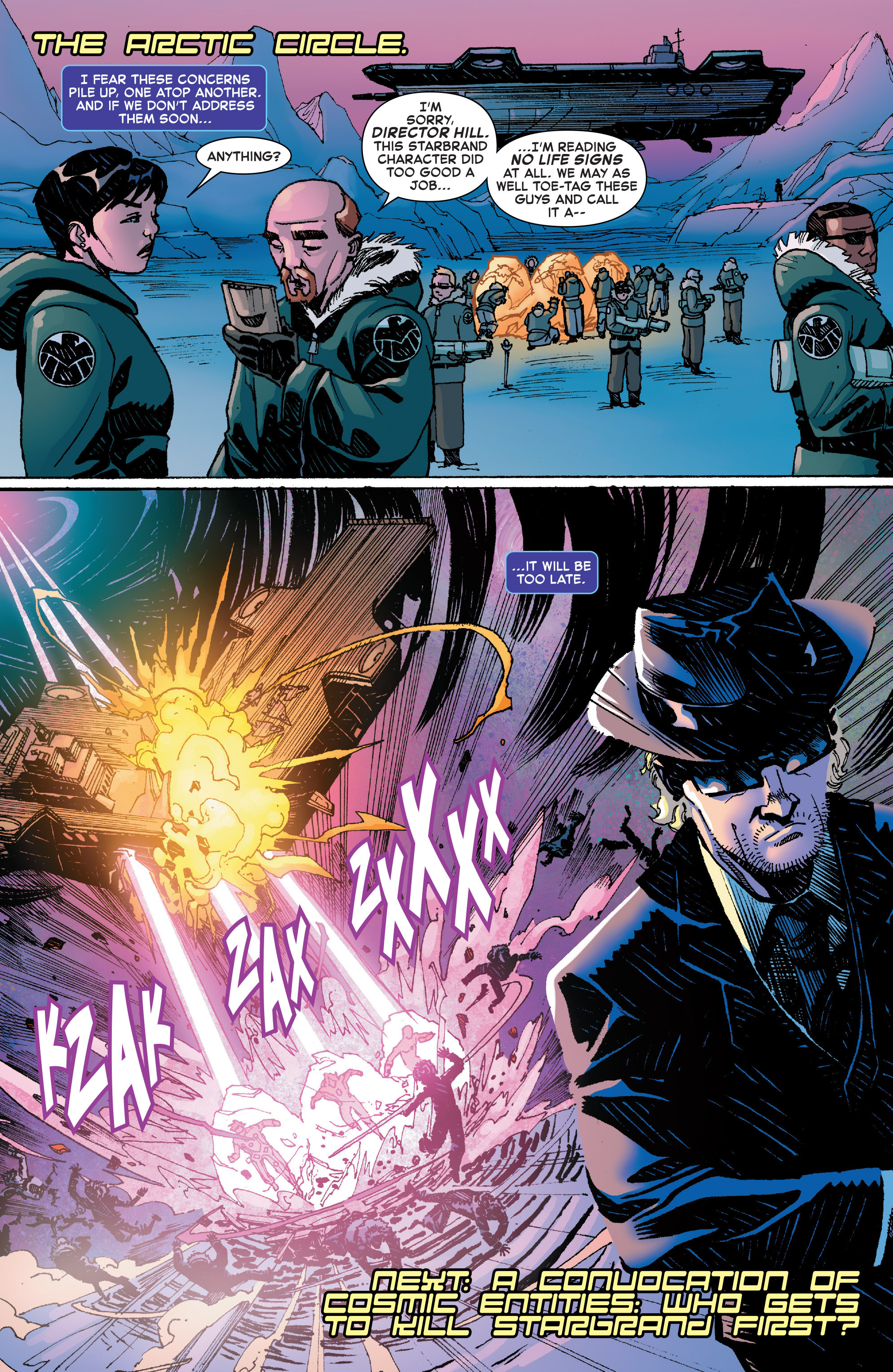Read online Starbrand & Nightmask comic -  Issue #2 - 20