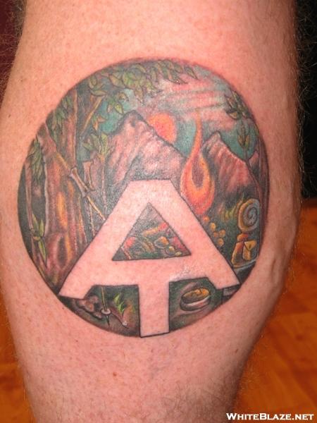 hiking tattoo appalachian trail just because pinterest