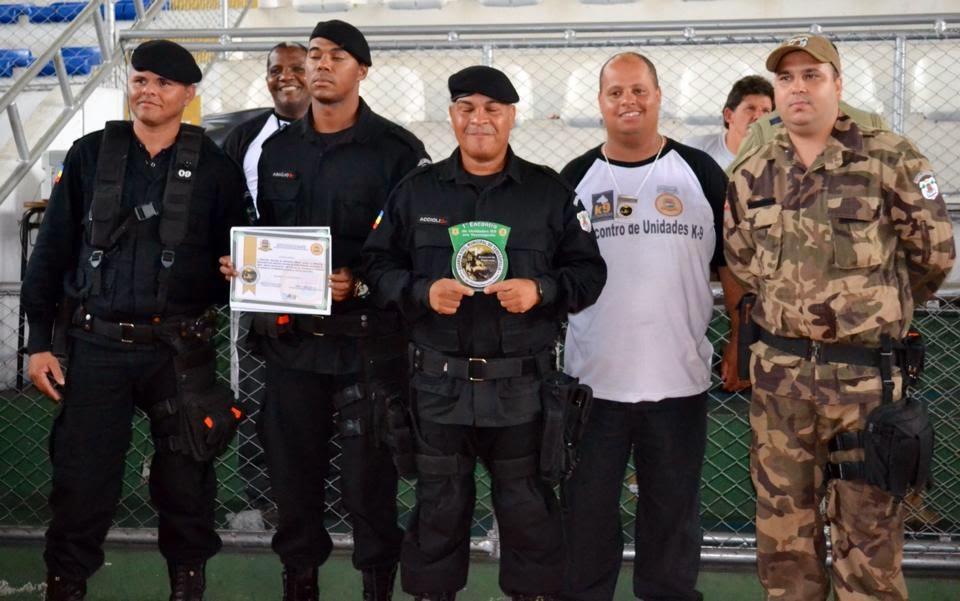 Casimiro de Abreu conquista 1º lugar na detecção de explosivos