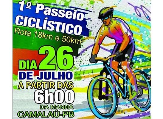 Prefeitura de Camalaú promove 1° Passeio Ciclístico neste domingo