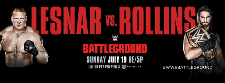 WWE Battleground 2018 live stream