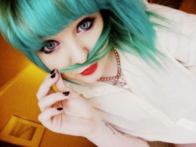 Tinte Color Verde Fantasía