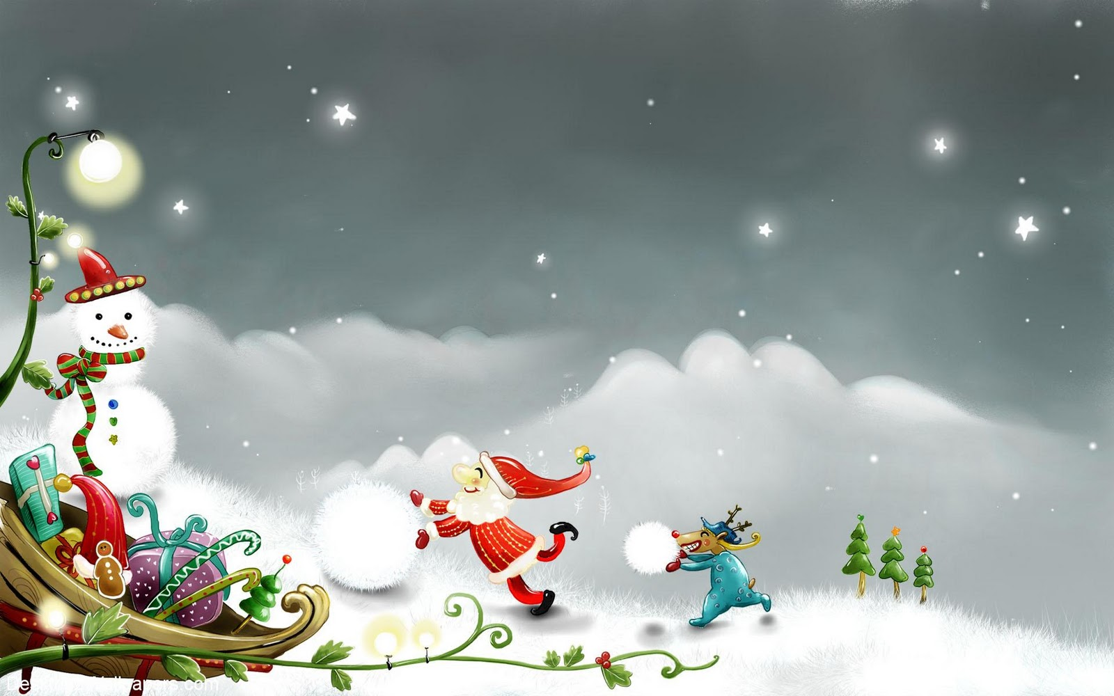 picturespool  happy christmas wallpapers