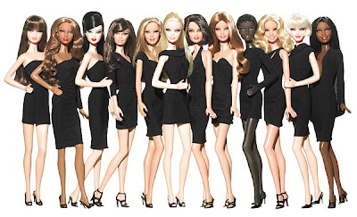 barbie's little black dress collection