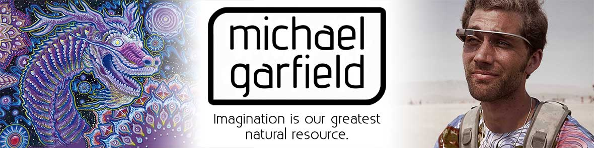 Michael Garfield Visionary Art & Music