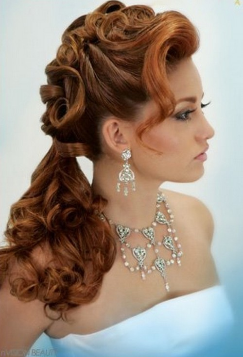 New, Latest And Beautiful Long Hair Hairstyles For Girls Only In 2013.