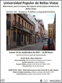 Universidad Popular de Bellas Vistas: Espacio público y equipamientos