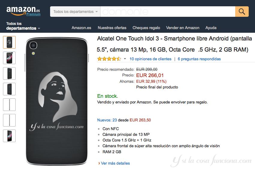 Comprando en Amazon - Y si la cosa funciona...