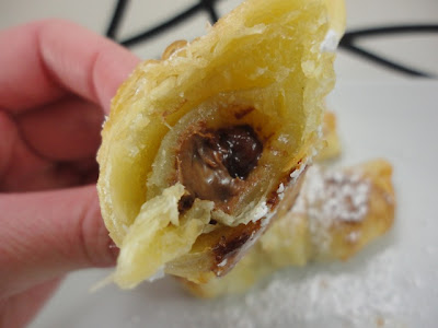 ... Pastry Crust AND Chocolate Filled Puff Pastries with an Almond Glaze
