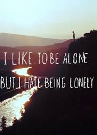 Motivational Monday #16 : Be Alone and Feel Loneliness | bubblybeauty135.com