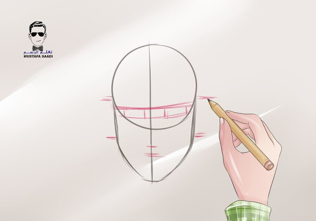 تعلم رسم الوجه بالرصاص