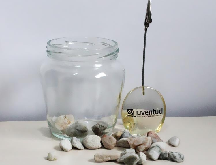 DIY: Decoración con un frasco de cristal