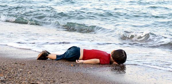 A foto se tornou um símbolo da crise migratória na Europa