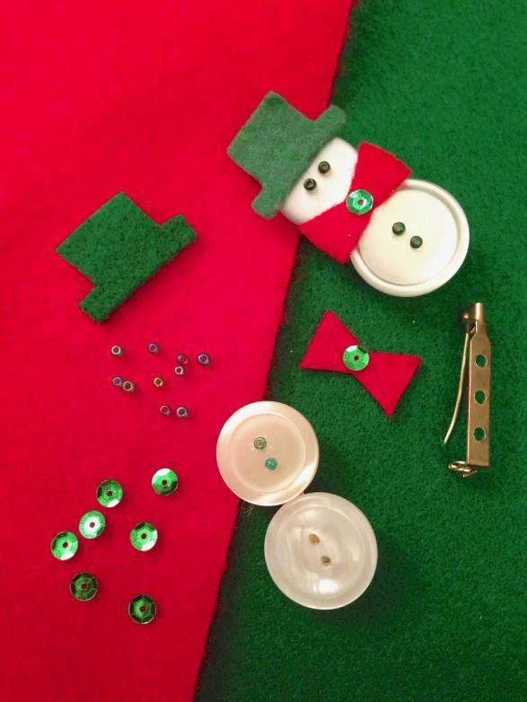 Distintivo de navidad dise ando y reciclando ideas for Manualidades para diciembre