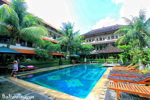 Kamar Hotel Bintang Rp 100 Ribu Di Kuta Bali