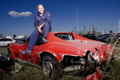 world record rusty haight most car collisions