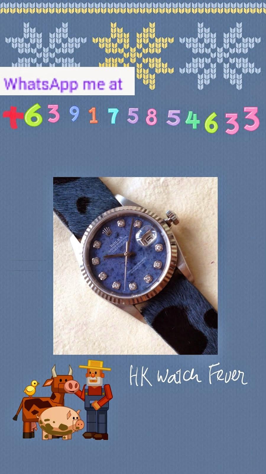 HK Snob Watch Fever's Contact