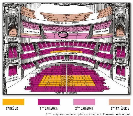 Un th un livre un scone paris rom o et juliette au - Plan salle theatre porte saint martin ...