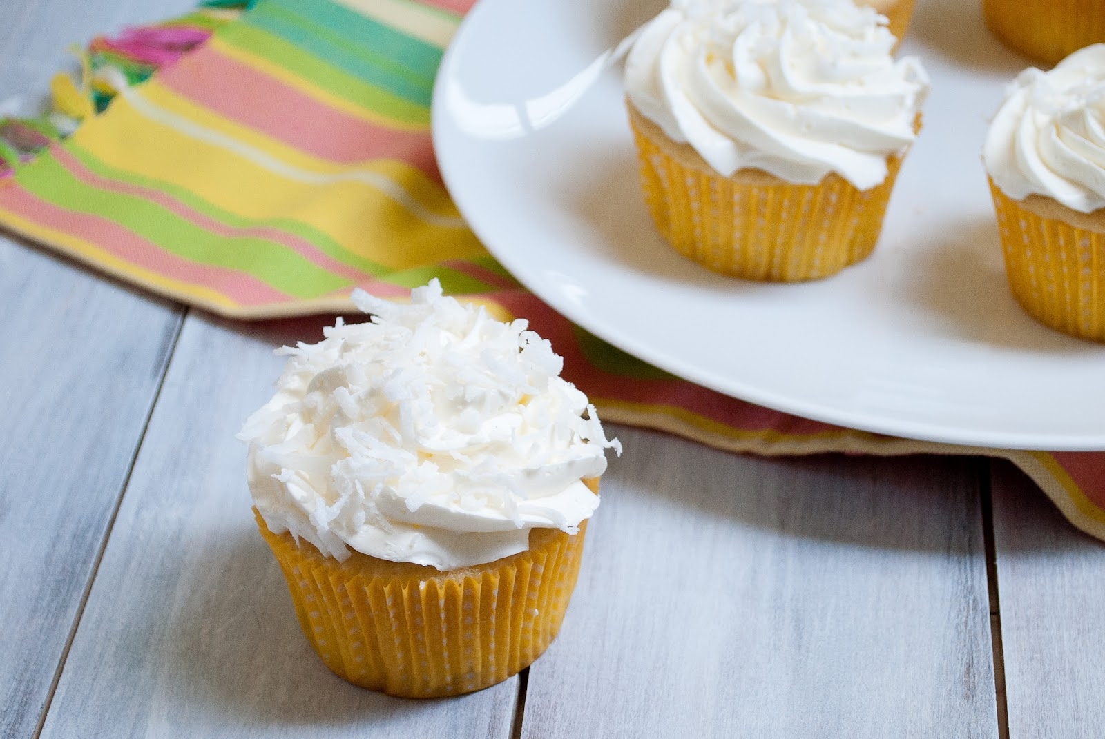 Ryan Bakes: Coconut and Pineapple Cupcakes with Coconut Swiss Meringue ...