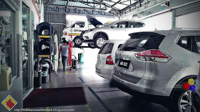 Servis Nissan Grand Livina di TCEAS Skudai