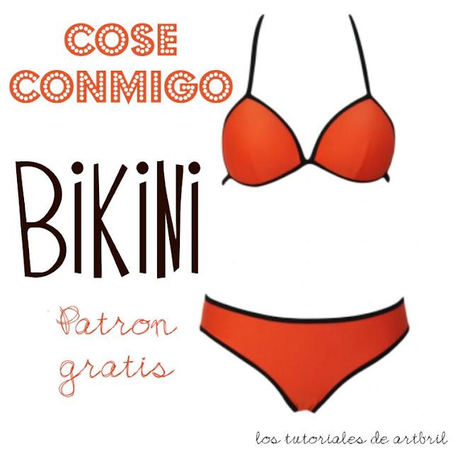 como hacer un bikini patron gratis