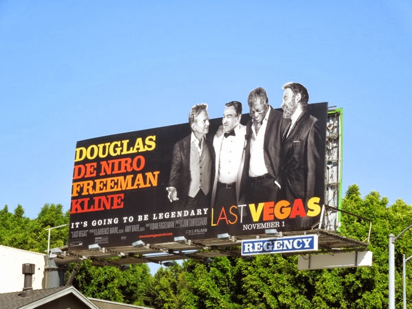 Last Vegas special movie billboard