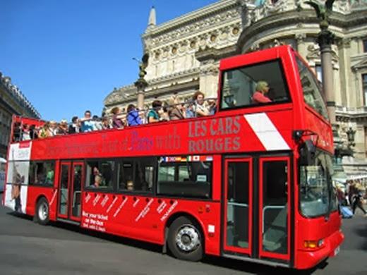 Double Decker Bus Tour Paris