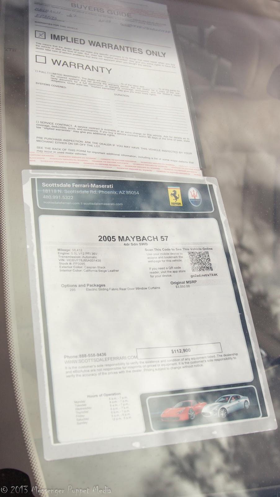2005 Maybach 57